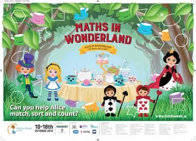 Maths Week 2015 Poster Alice