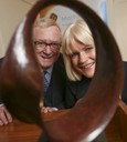 Prof Des Machale and Dr Sheila Donegan
