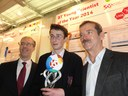 Raheny Student wins EU Contest for Young Scientists