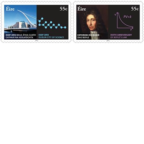 New Stamp Celebrates Boyle's Law